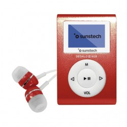 REPRODUCTOR MP3 SUNSTECH DEDALOIII8GBRD 8GB 1,1