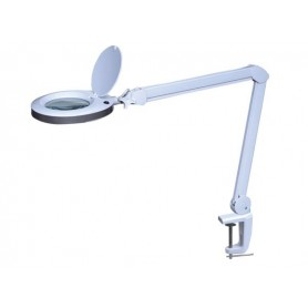 LAMPARA LED VELLEMAN CON LUPA 8 DIOPTRIAS 8W 80LED