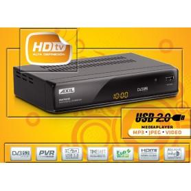 RECEPTOR SATELITE ENGEL RS0761HD, USB, MP3