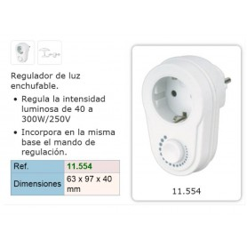 REGULADOR LUZ ENCHUFABLE 300W