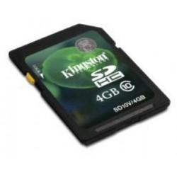 TARJETA SD 4GB CLASE 10