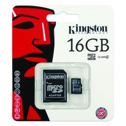 Kingston SD 16GB - Tarjeta de memoria flash - 16 G