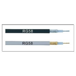 CABLE RG58 RADIO AFICIANADO 5MM- NO MIL