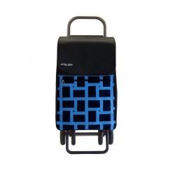 Carro Compra Rolser Box Geometrik 4.2 Azul