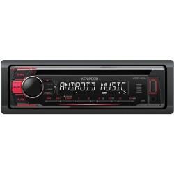 KDC-110UR KENWOOD RADIO CD / USB / AUX ROJO