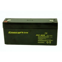 BATERIA 6V 3,2A ENERGI MV632 134 X 34.5 X 66,5 mm