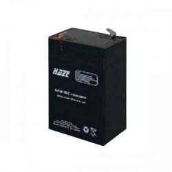 BATERIA PLOMO AGM 6V 4,5AH HAZE 70X48X101 mm