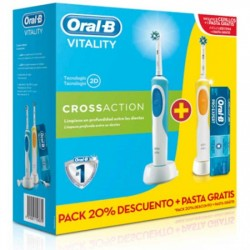 DENTAL ORAL-B DUO VITALITY CROSS ACTION