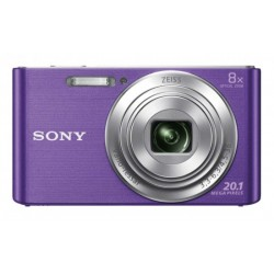 CAMARA SONY DSCW830V 20,1 MPXLS 8X HD VIDEO VIOLET
