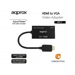 CONVERTIDOR HDMI A VGA SALIDA AUDIO