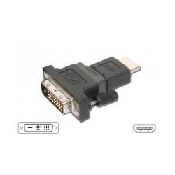 ADAPADOR HDMI M - DVI M 18+1 - DESCATALOGADO
