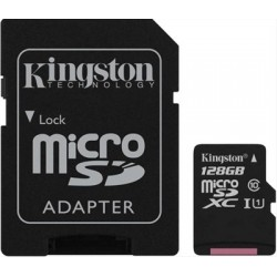 Kingston microSD 128 GB Tarjeta de memoria flash m