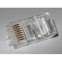 CONECTOR TELEFONO DOBLE CAT.6 GUIA