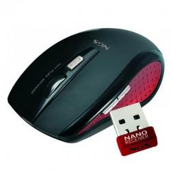 RATON NGS WHITE FLEA ADVANCED WIRELESS 2,4 USB