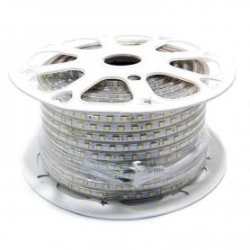 TIRA LED 50MT. 220V 60 LED/METRO IP65 6W 6400K