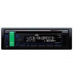 AUTORRADIO KD-R481E JVC RADIO CD / USB / AUX / FRONTAL AZUL