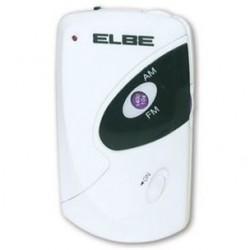 Radio portátil ELBE RF51MIN, con pilas AAA