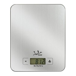 Balanza de cocina 15kg Jata 719 inox reloj