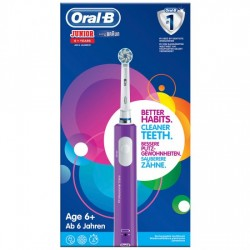 DENTAL ORAL-B D16 INFANTIL JUNIOR MORADO