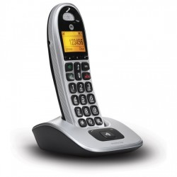 TELEFONO MOTOROLA DECT CD301 PLATA SINGLE