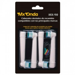RECAMBIO DENTAL MXONDA MX90 4 CABEZAS