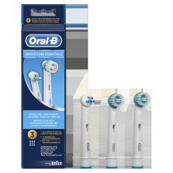 RECAMBIO DENTAL ORAL-B ORTHO KIT 3 PZS