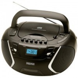 Radiocassett DAEWO DBU51, CD-R/CD-RW/MP3, Puerto U