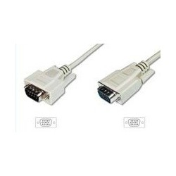 CABLE SUPER VGA MACHO-MACHO 1,8M. C/FERRITA