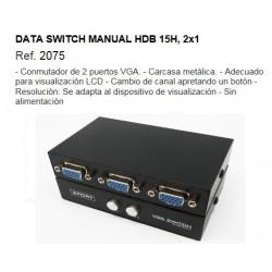 CONMUTADOR VGA 2 ENTRADA-SALIDAS