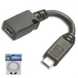 ADAPTADOR MINI USB H 5P A MICRO USB MA