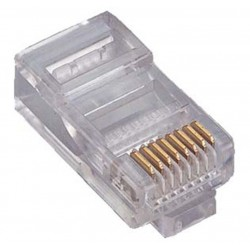 CONECTOR RJ45 M UTP RIGIDO GTLAN