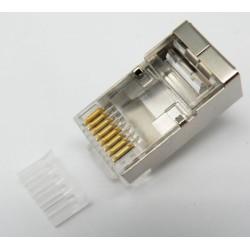 CONECTOR RJ45 CAT.6 8P/8C 50MICRA