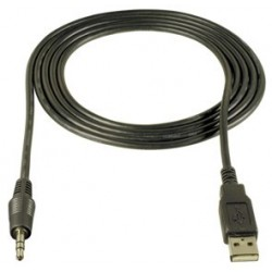 CONECTOR USB 2.0 A/M JACK 3.5MM ST/0.80
