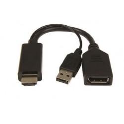 ADAPTADOR HDMI A DISPLAY PORT ACTIVO DSC-HDMI-DP