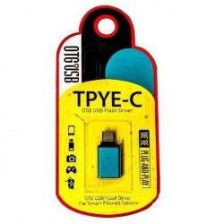 ADAPTADOR OTG USB 3.0 H TIPO A - USB 3.1 M TIPO C