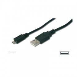 CABLE USB 2.0 A M/MICRO USB-M TIPO B 3M