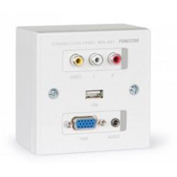 PANEL VGA 3,5 CAJA USB FONESTAR WPL401