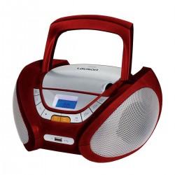Radio CD LAUSON CP442, Rojo