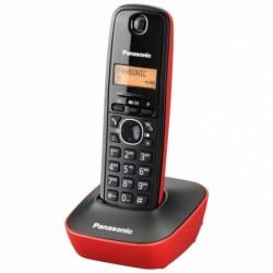 TELEFONO PANASONIC DECT KX-TG1611 SPR ROJO