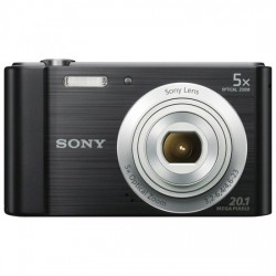 CAMARA SONY DSCW800B 20,1 MPXLS 6X HD VIDEO NEGRO