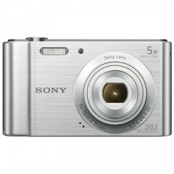 CAMARA SONY DSCW800S 20,1 MPXLS 6X HD VIDEO PLATA