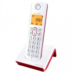 TELEFONO ALCATEL S-250 RED/WHITE DECT M. LIBRES