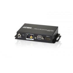 CONVERTIDOR/ESCALADOR VGA - HDMI 1080P