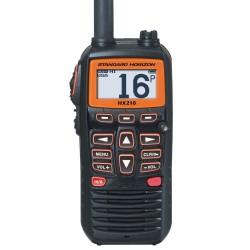 VHF Portátil Marino Standard Horizon HX210E IPX7