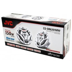 ALTAVOCES MARINOS JVC CS-DR6201MW 16 CM 2 VIAS 150 W POLIPROPILE