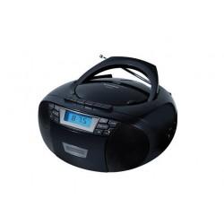 Radio Cd Sunstech CXUM53BK con USB Negro
