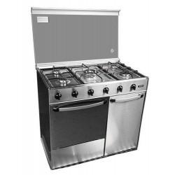 Cocina conv Svan SVK9551GBI, gas butano, 90x60cm,