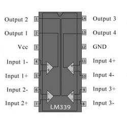 CIRCUITO INTEGRADO LM-339 14 P. HA17339