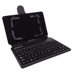 "Funda Tablet 7"" con Telado Universal Negra"