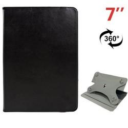"Funda 7"" universal tablet negro giratoria"